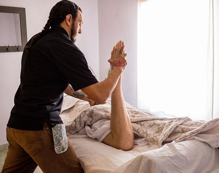 Wild hardcore pink sock anal abuse